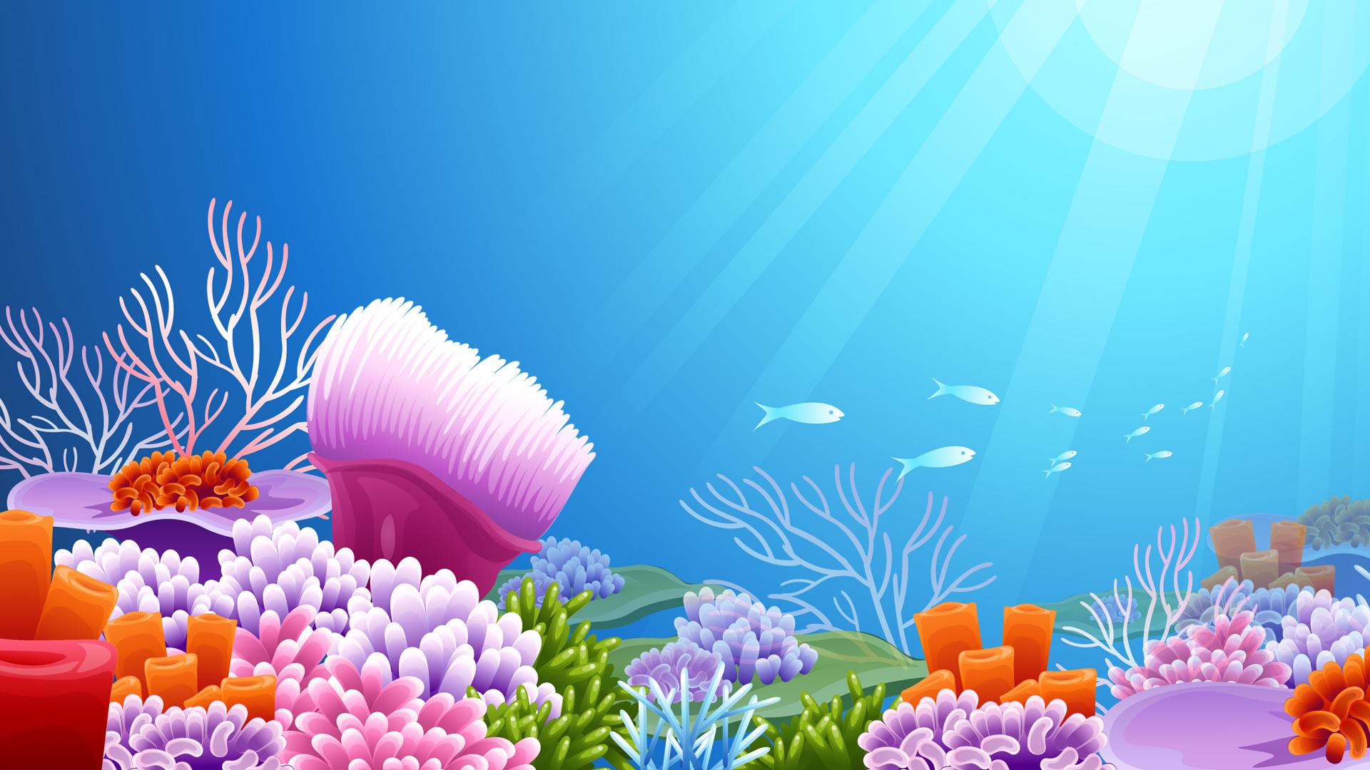 Free Under The Ocean Wallpaper - WallpaperSafari