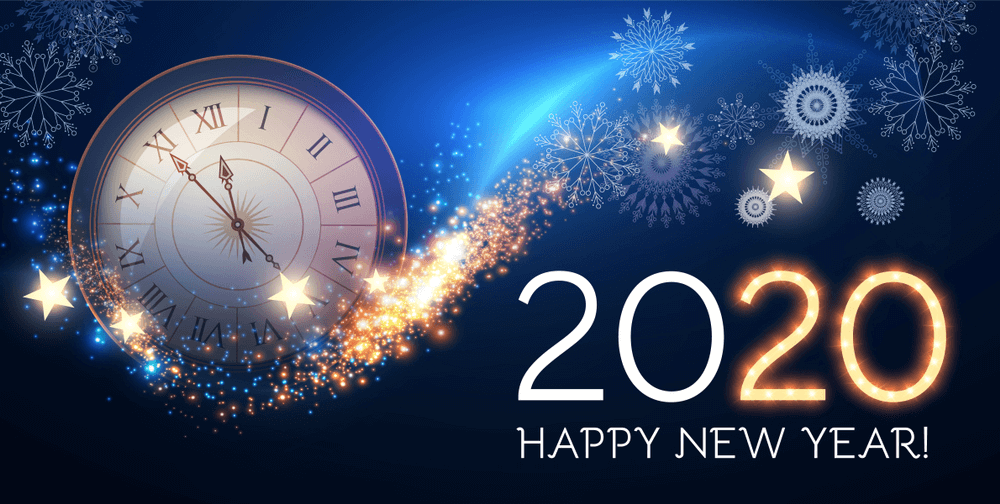 500 Best Happy New Year 2020 Wallpaper Background Images Ideas in 1000x504