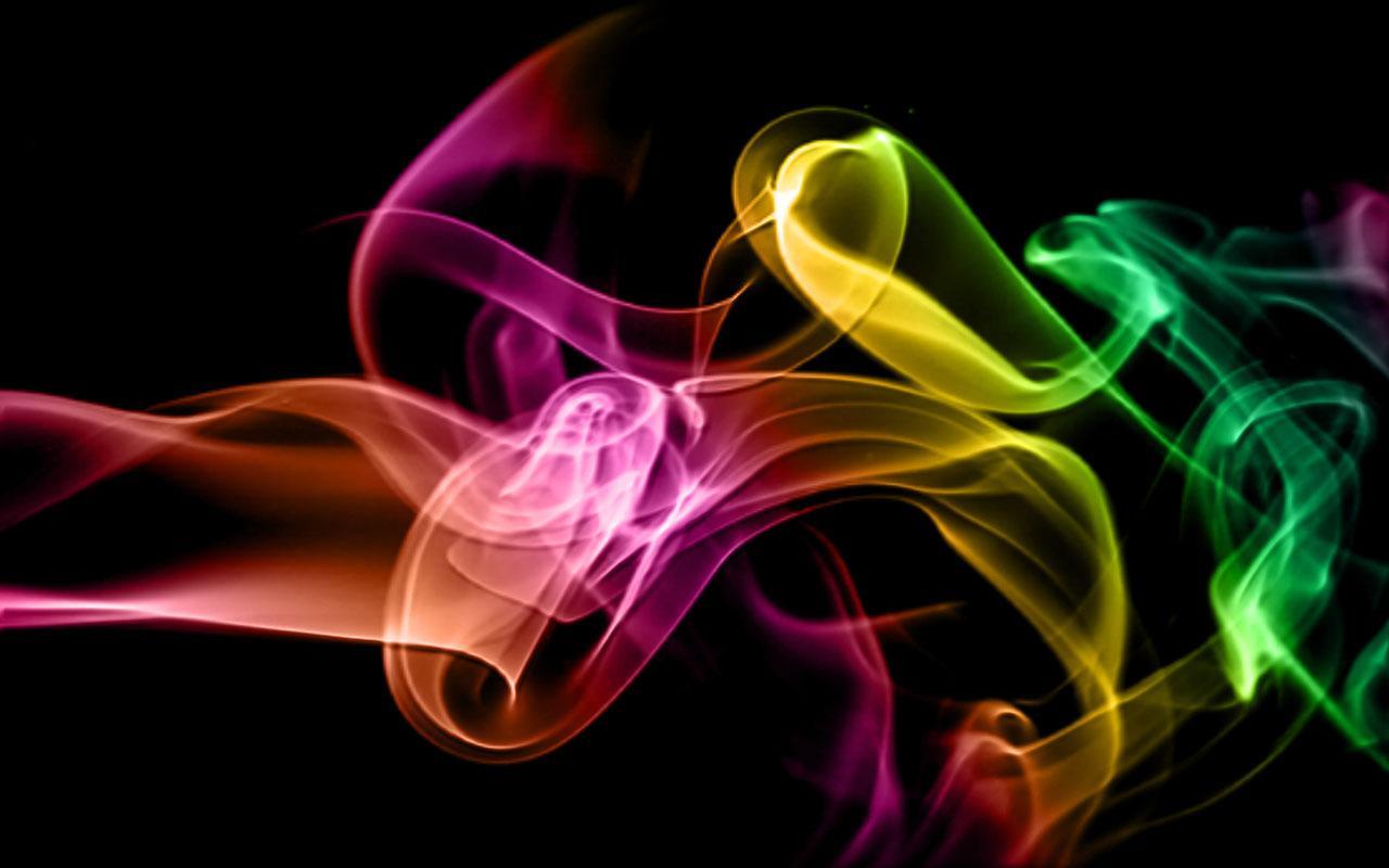 Colorful Smoke Full HD Wallpaper 2743 Wallpaper computer 1280x800