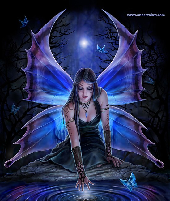 free gothic fairy wallpaper download the   Quotekocom 550x650