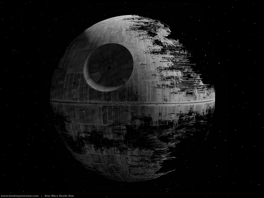 Star Wars Death Star Wallpaper by DesktopExtremecom   Wallpaper For 1024x768