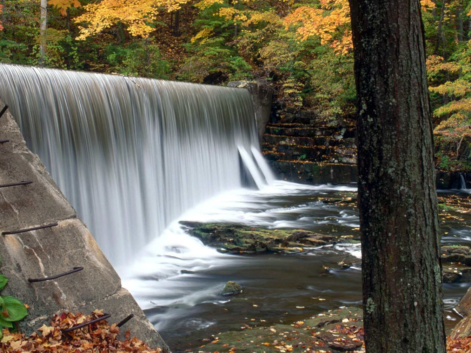 living waterfall wallpaper which is under the waterfall wallpapers 1600x1200