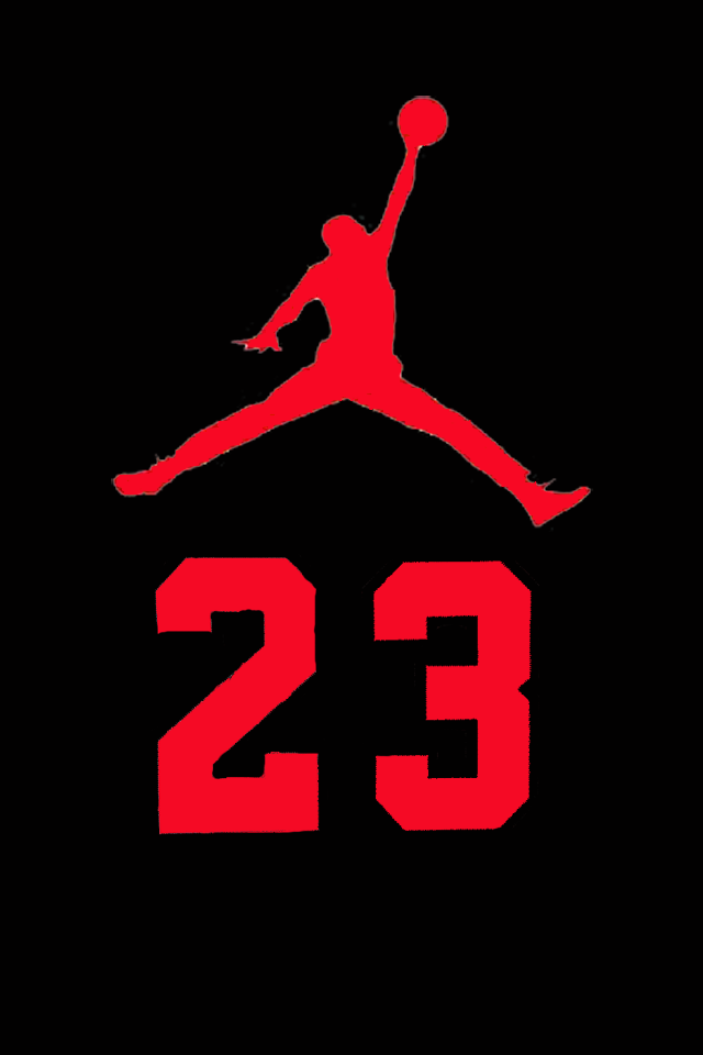Air Jordan Logo Iphone Wallpaper
