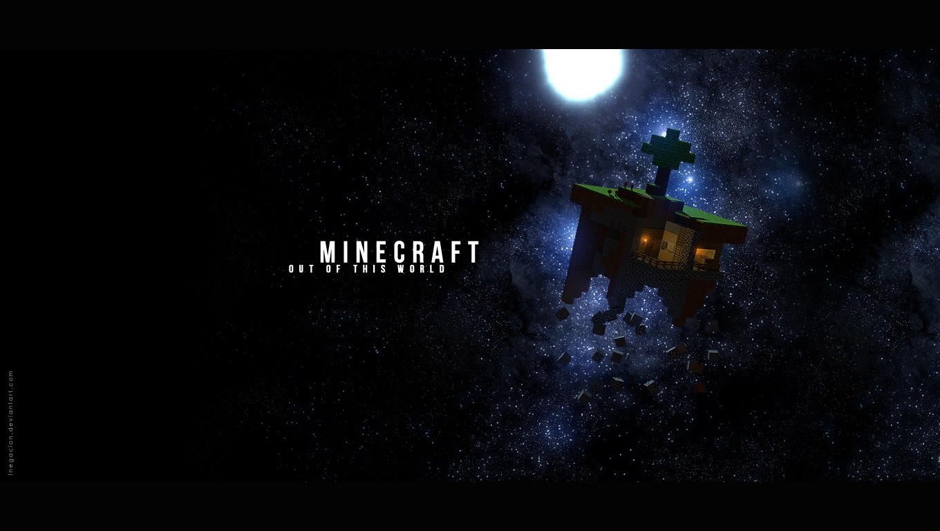Minecraft   Wallpaper by iNegacion 1360x768