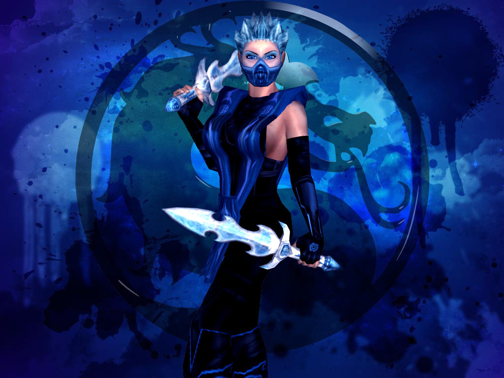 Mortal Kombat Frost Wallpaper