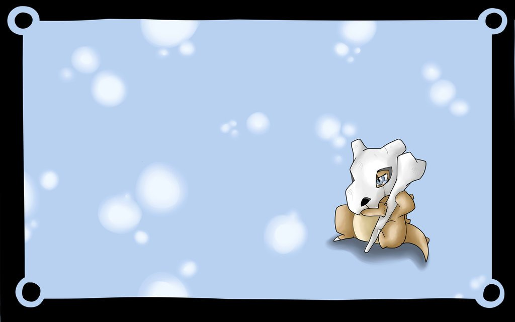Cubone Wallpaper Cubone wallpaper wip complete 1024x640