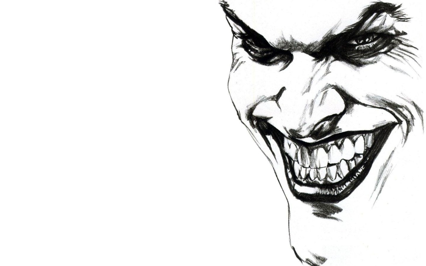 Cool joker smile wallpaper image wallpaper collections 1440x900