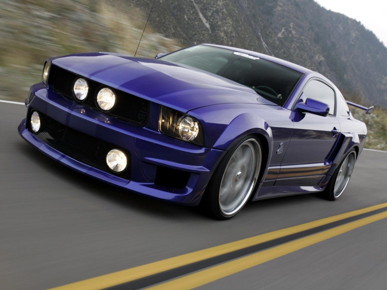 GT Wallpaper   Fond decran Ford Mustang Shelby 1280x960