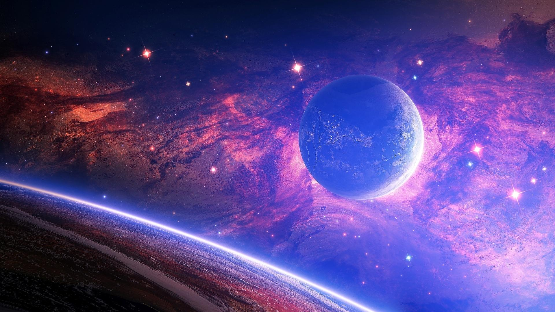 Beautiful Space Wallpaper   HD Wallpapers Lovely 1920x1080