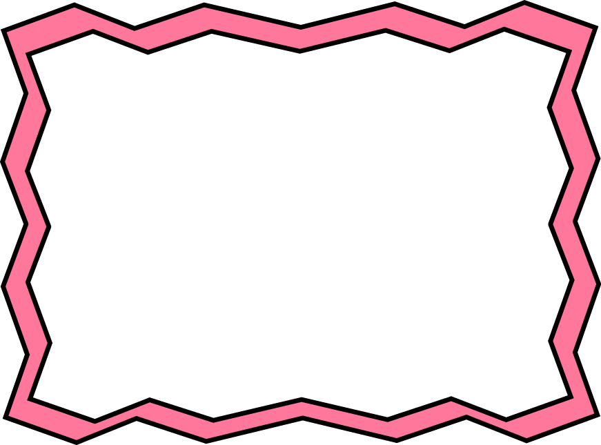 Free download Best Zig Zag Line Page Border Png HD Photo