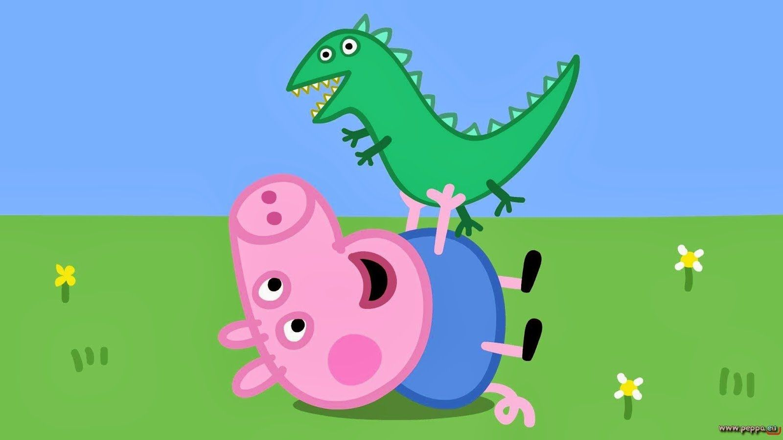 Free Download Peppa Pig Playhouse With Mat And 4 Figures And Play Doh Clay 1600x900 For Your Desktop Mobile Tablet Explore 37 Peppa Pig House Wallpapers Peppa Pig Wallpaper