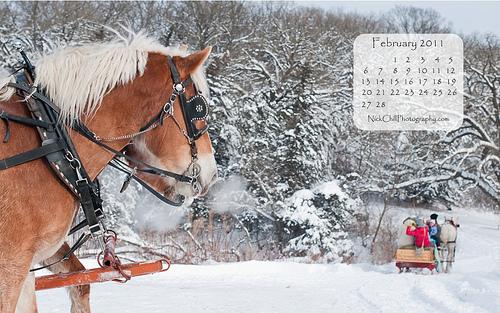 Iowa Sleigh Ride   February Calendar Flickr   Photo Sharing 500x313