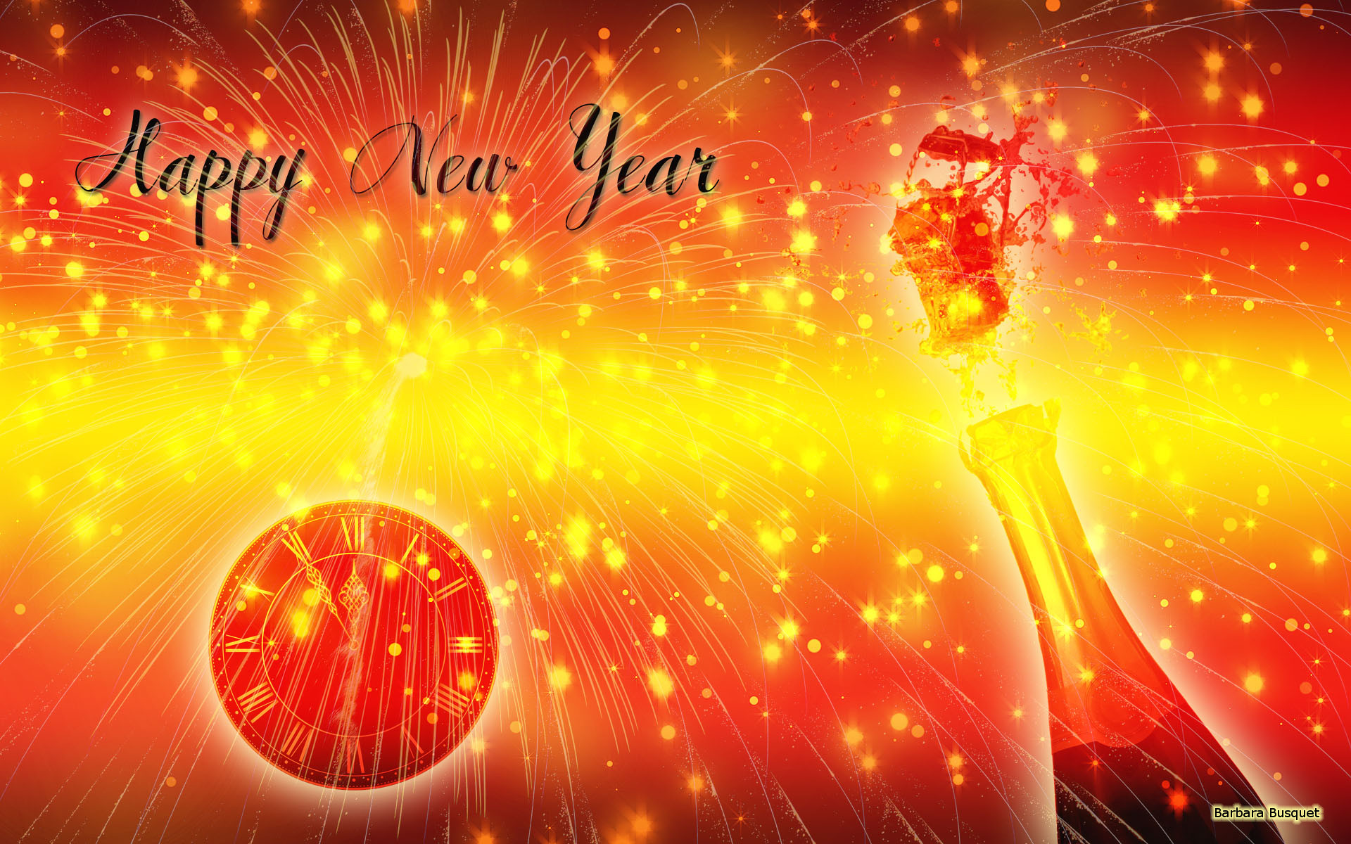 Happy New Year Wallpapers   Barbaras HD Wallpapers 1920x1200