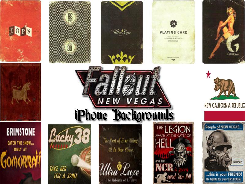 45 Fallout New Vegas Wallpaper Iphone On Wallpapersafari
