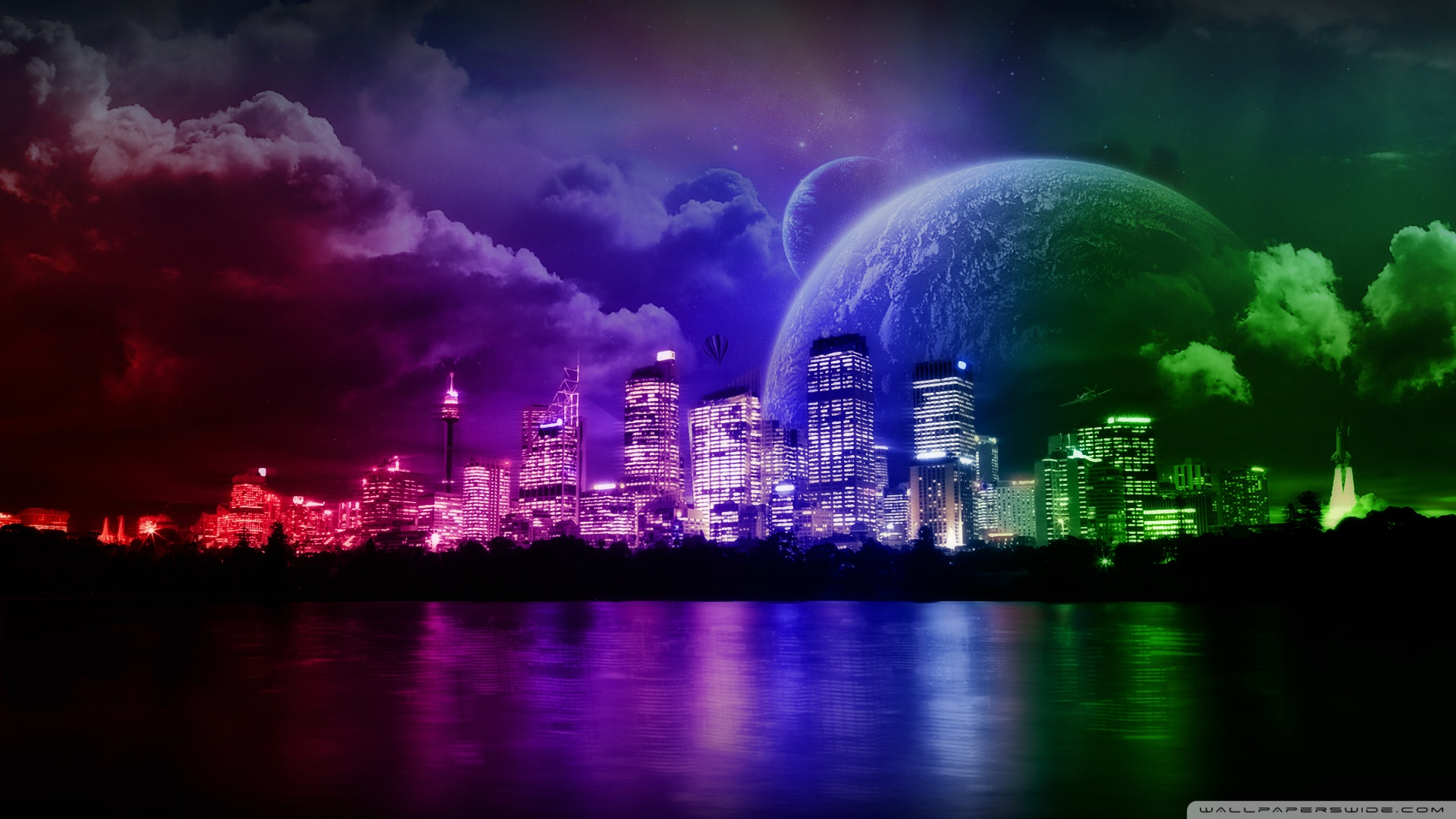 Dream City Wallpaper 1920x1080 Dream City 1920x1080