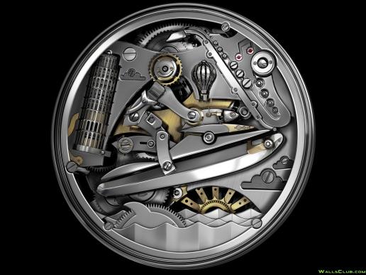 Mechanical Illustration Wallpaper 516x387