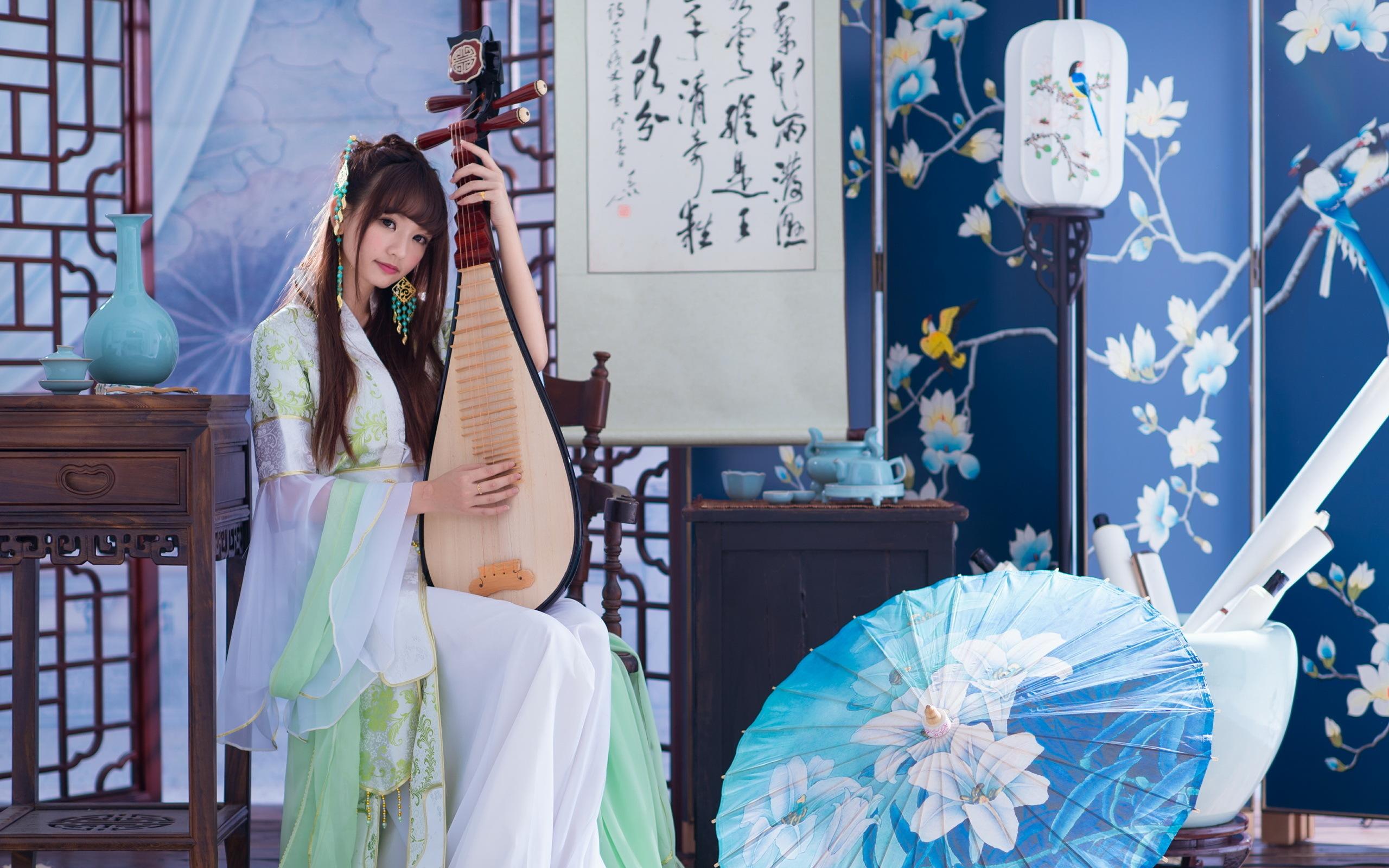 Amazing geisha wallpaper 34279 2560x1600