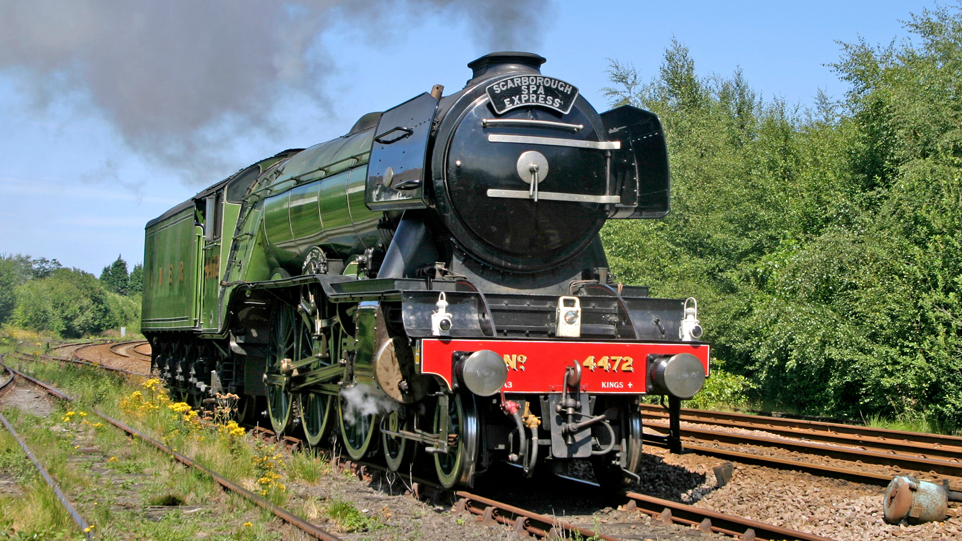 The Unstoppable Flying Scotsman Skycom 1920x1080