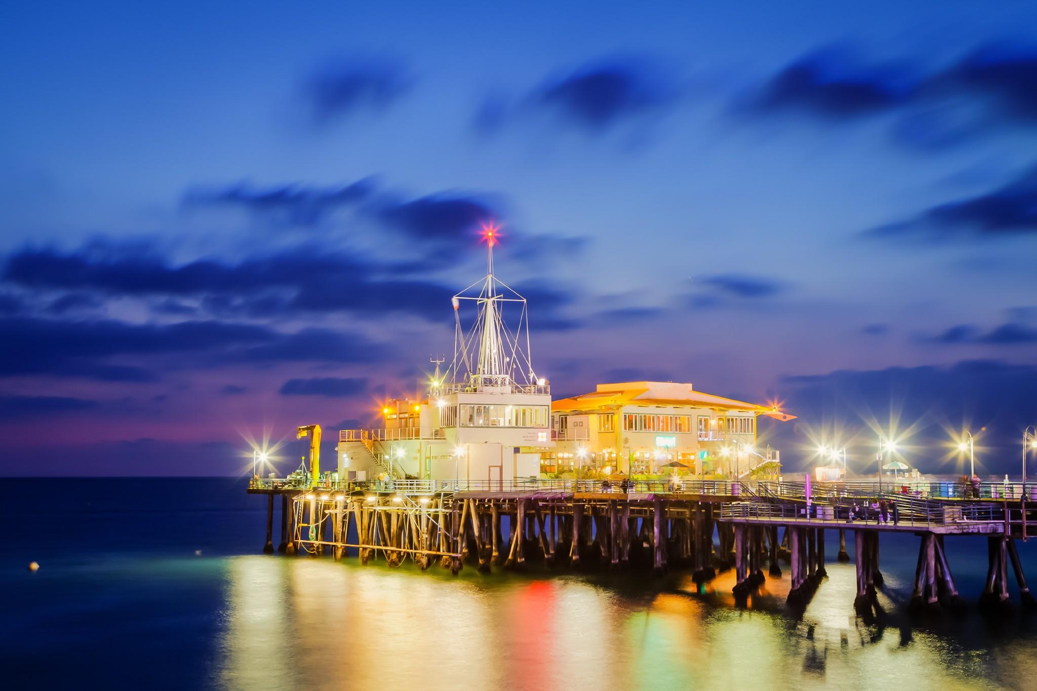 Santa Monica Volvo >> Santa Monica Pier Wallpaper - WallpaperSafari
