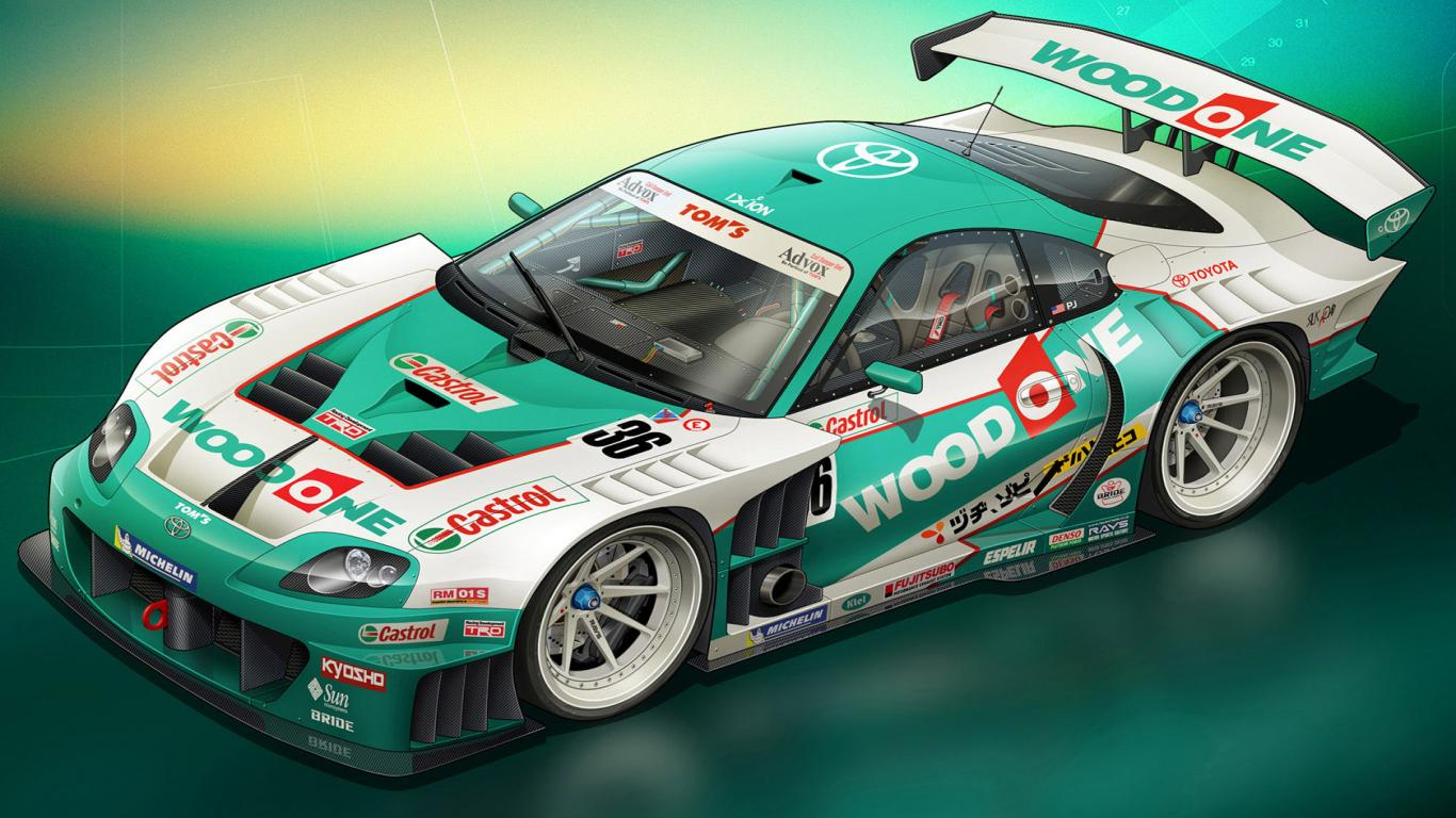 Racing Car Wallpapers Download 17 Desktop Wallpaper Wallpaper 1366x768