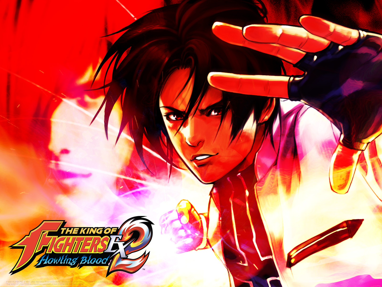 Atlus USA presents The King of Fighters EX2 Howling Blood 1600x1200