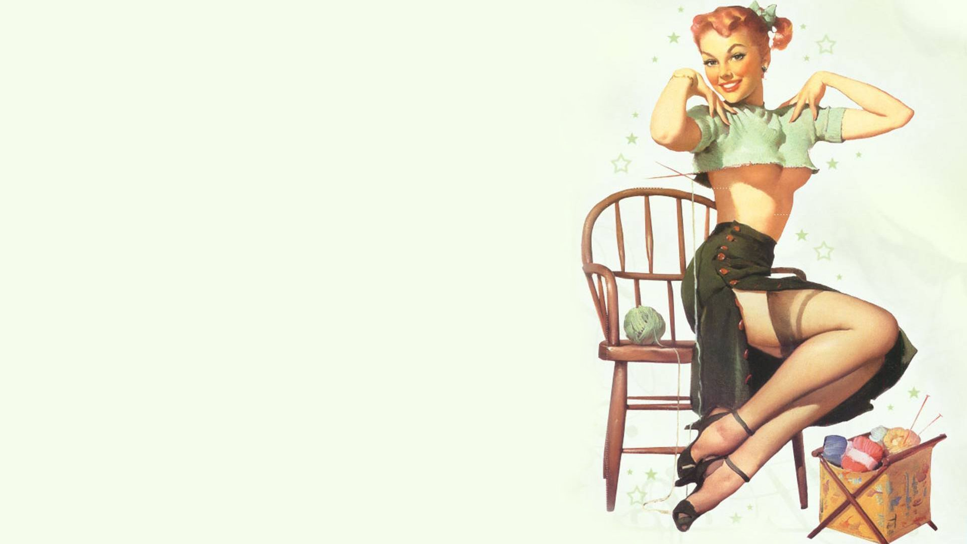 50 Pin Up Girls Hd Wallpaper On Wallpapersafari