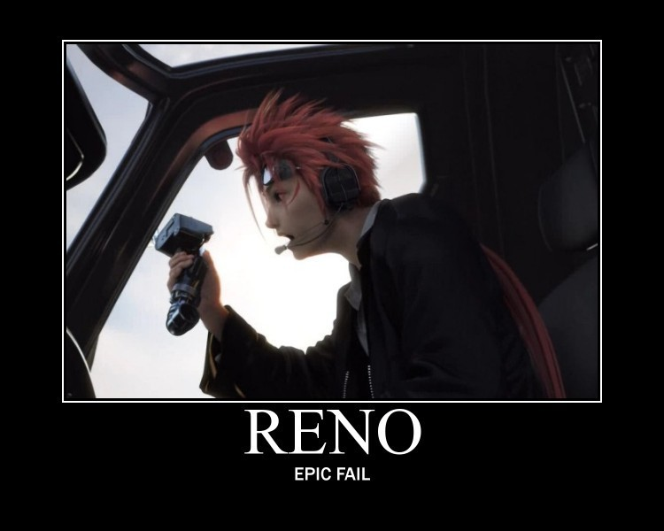 Final Fantasy VII images Reno   Epic Fail wallpaper photos 20975774 750x600