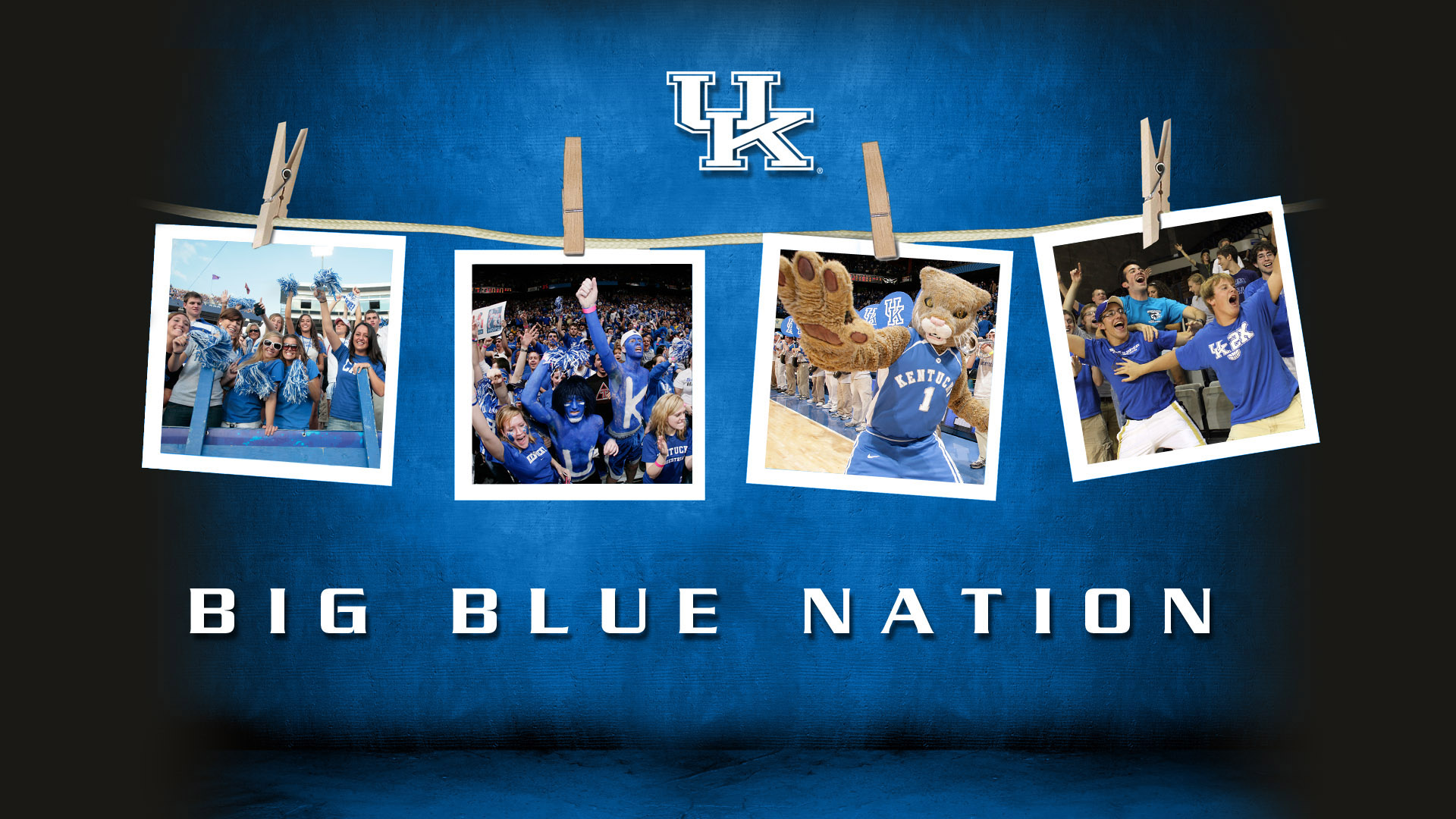 Kentucky basketball season with this Big Blue Nation desktop wallpaper 1920x1080