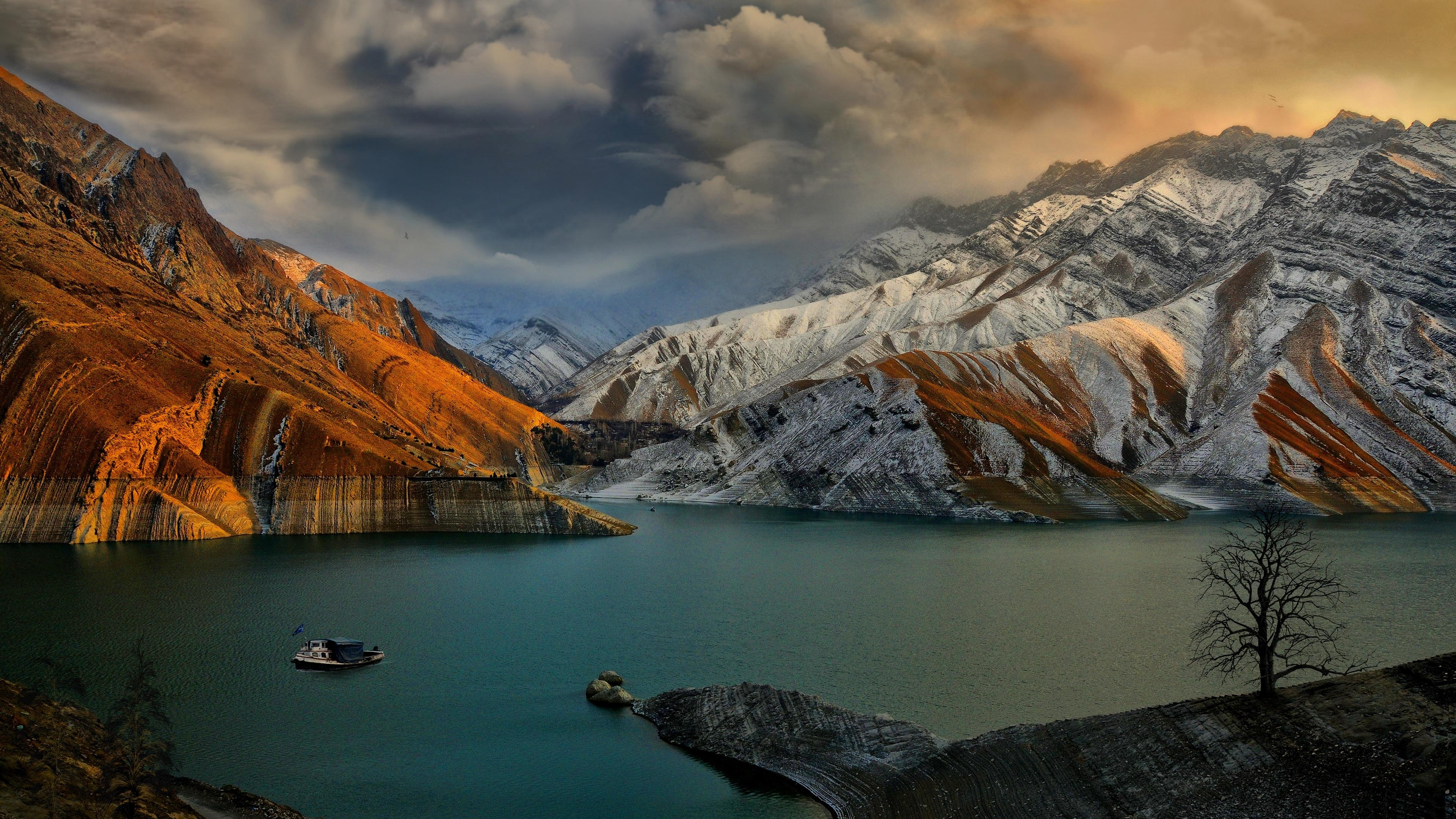 Amirkabir Dam Wallpapers   3840x2160   2975631 3840x2160