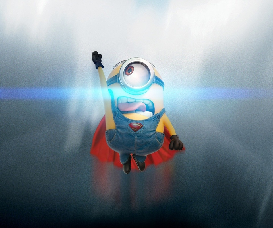 Minion Superhero Wallpaper Super minion wallpaper 960x800