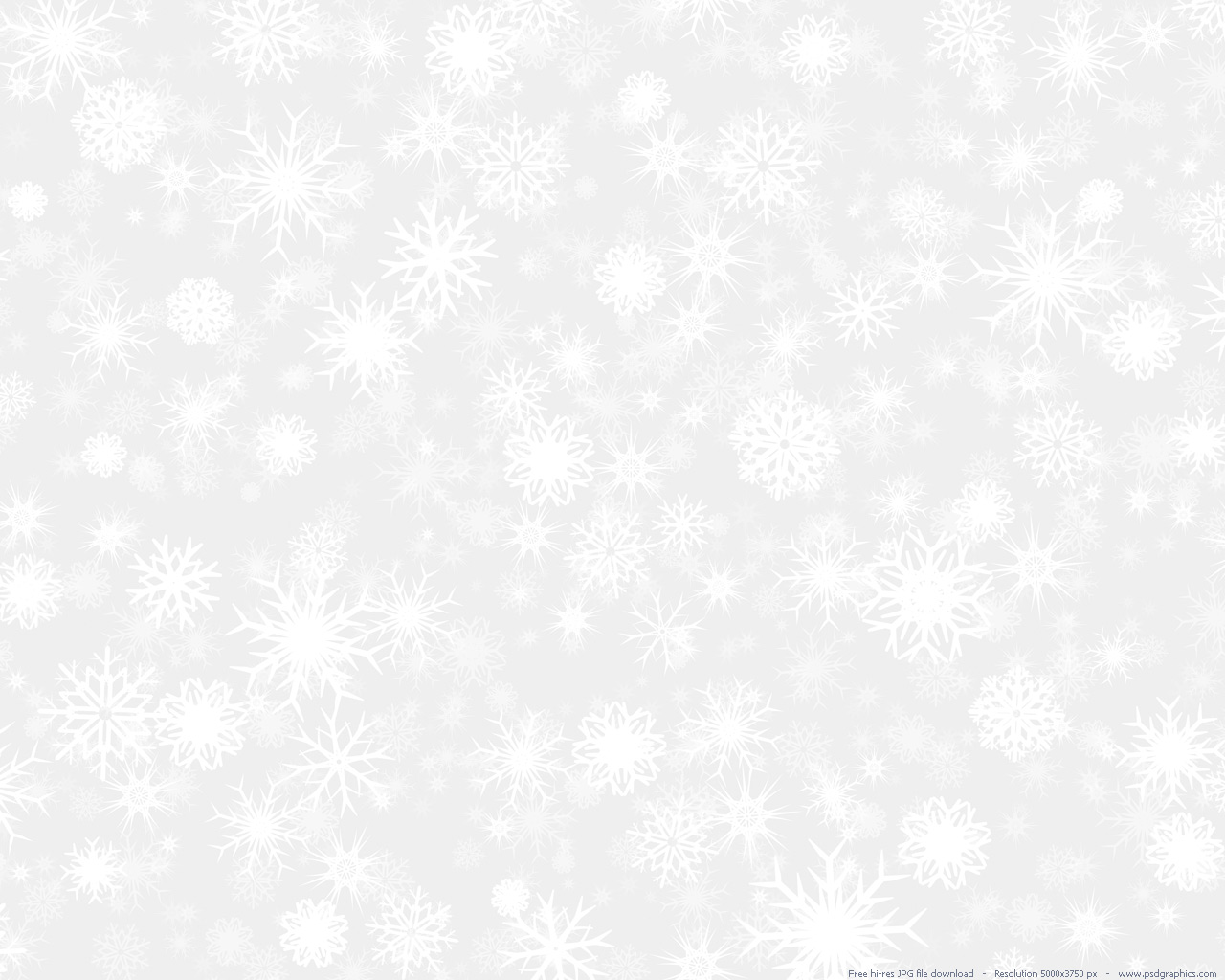 Large preview 1280x1024px White snow 1280x1024