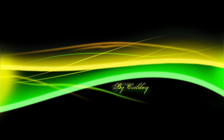 green yellow wallpaper by csiliboy customization wallpaper abstract 1440x900