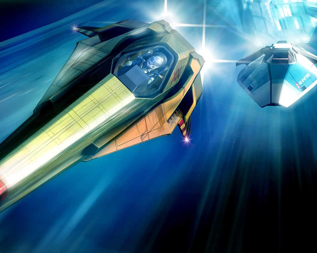 Wipeout HD Wallpaper in 1280x1024 1280x1024