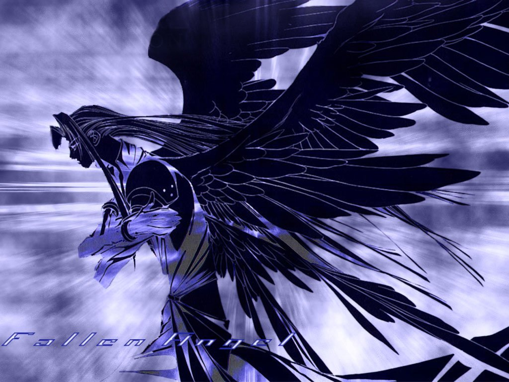 Anime Fallen Angel Boy Background Wallpaper Pack Wallpapers