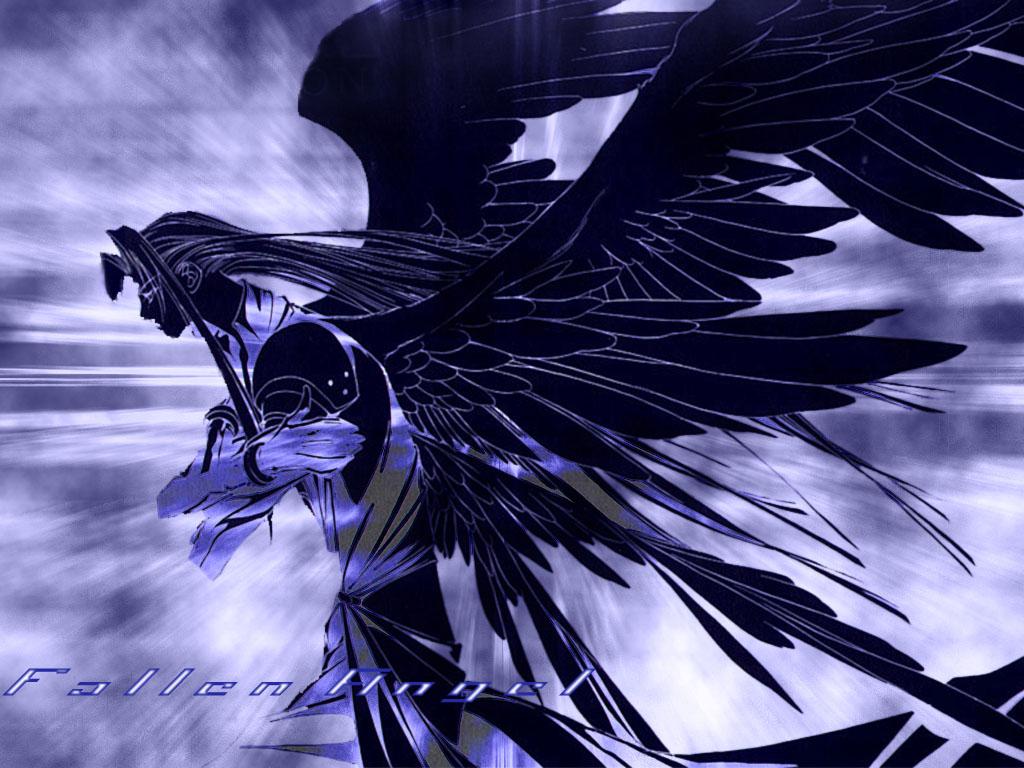 Anime Fallen Angel Wallpaper 4603 Hd Wallpapers Background in 1024x768