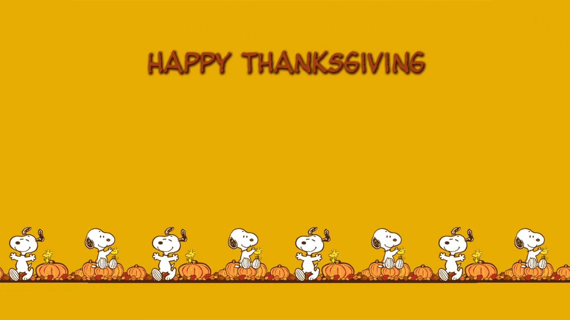 Snoopy Thanksgiving Wallpaper Backgrounds Widescreen 1920x1080