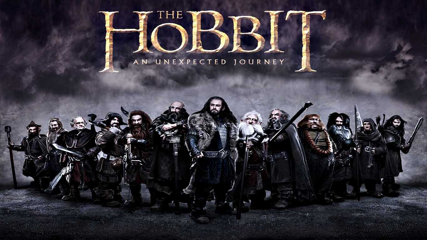 1366x768 The Hobbit Characters Artwork Desktop Pc And Mac Wallpaper 1366x768
