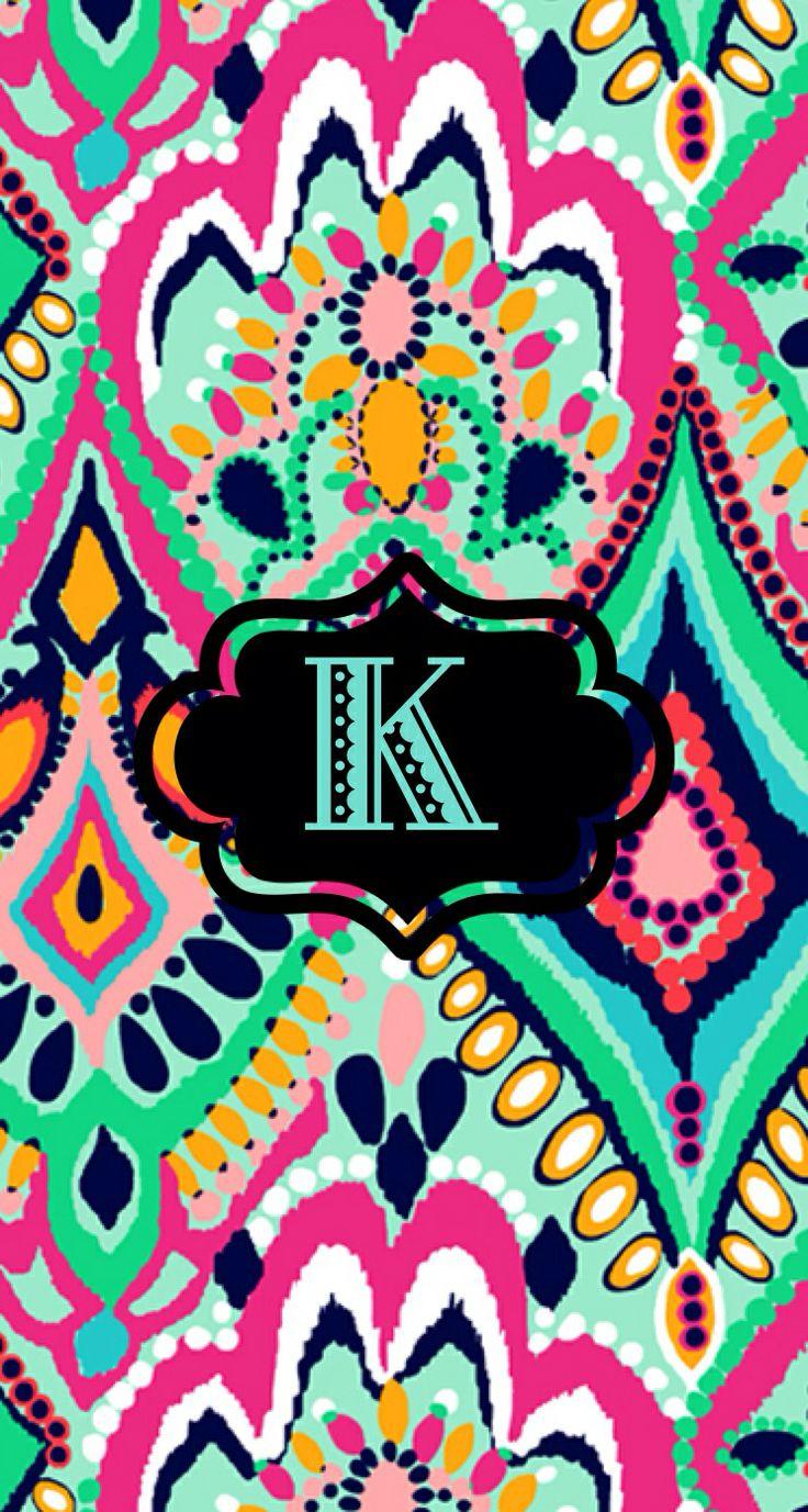 cute letter k wallpaper