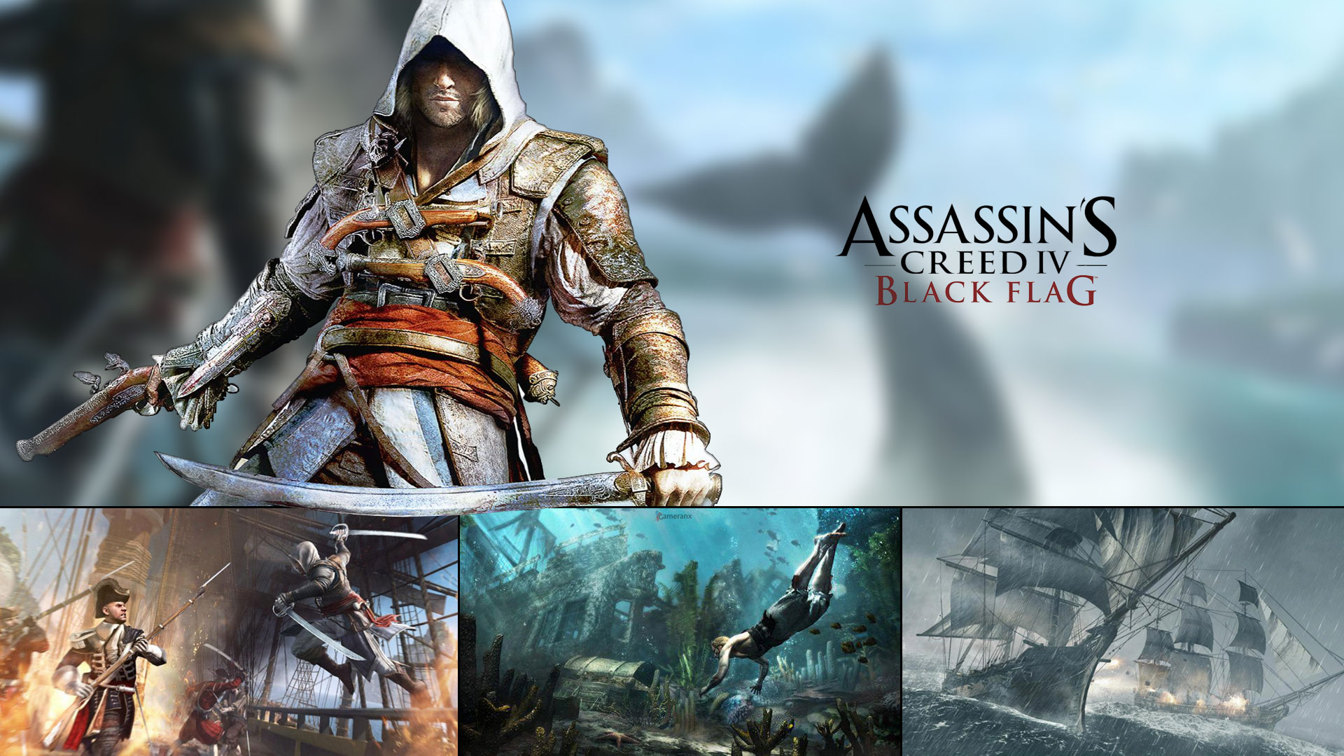 1920x1080px assassin s creed black flag wallpaper wallpapersafari assassins creed 4 wallpapers hd black flag wallpapers page 1 1920x1080 voltagebd Image collections