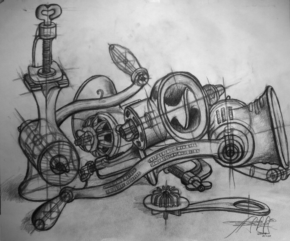 the mechanical engineer within by anvi 980x815