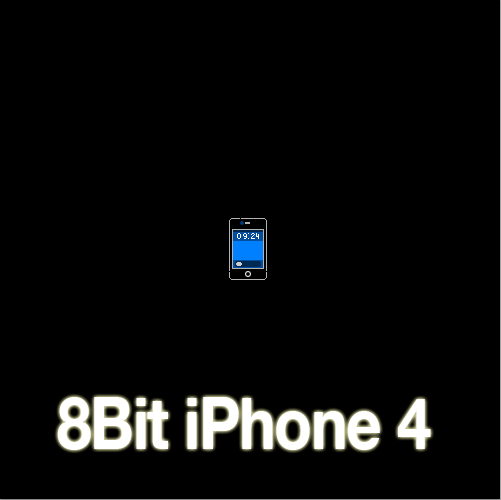 Bit Iphone Wallpaper 8 bit iphone 4 by zad0xsis 501x500