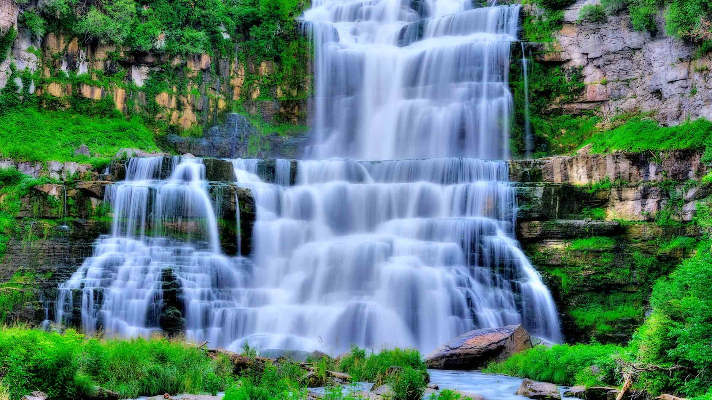 waterfall wallpapers high resolution - photo #18