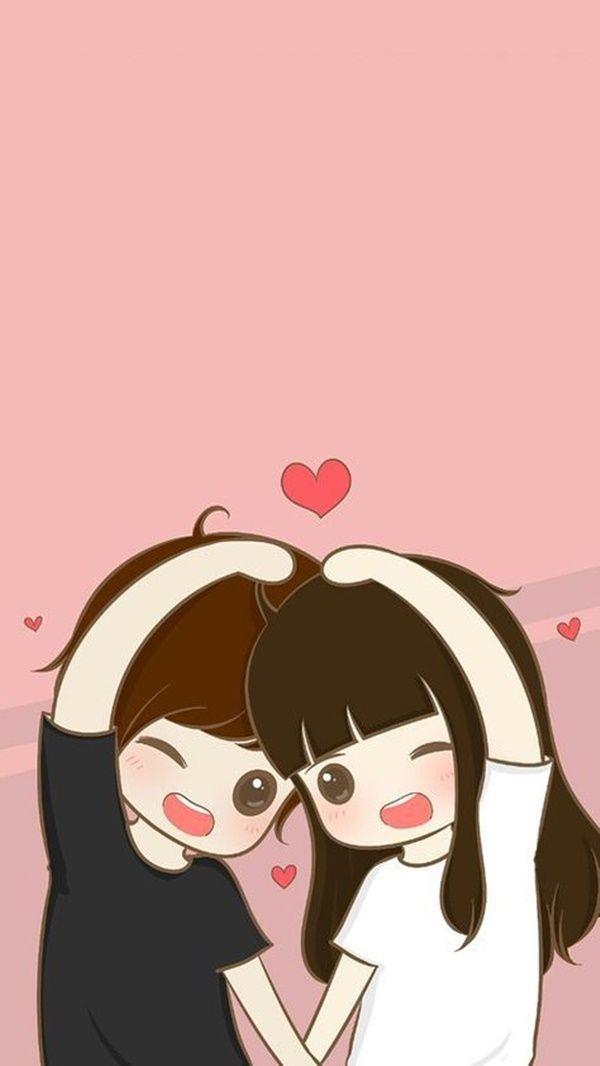 [20+] Cute Animated Love Wallpapers on WallpaperSafari