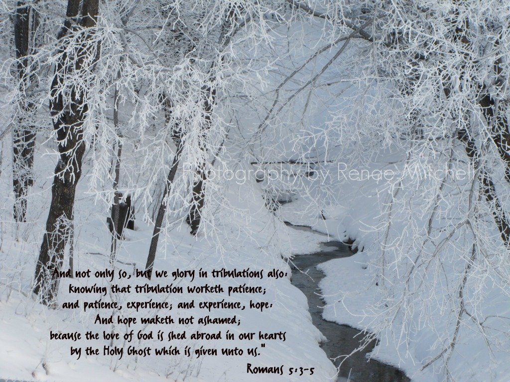 winter wallpaper with bible verses 1024x768