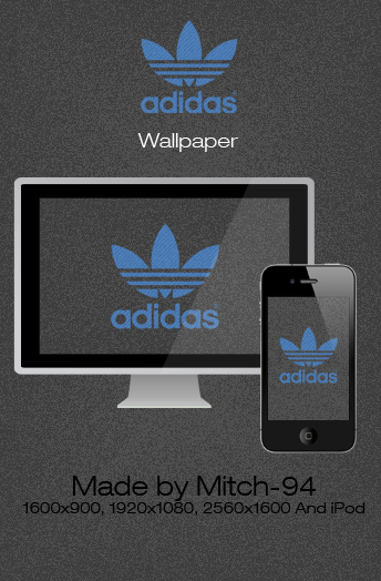 adidas wallpaper and iphone by mitch 94 fan art wallpaper 344x524