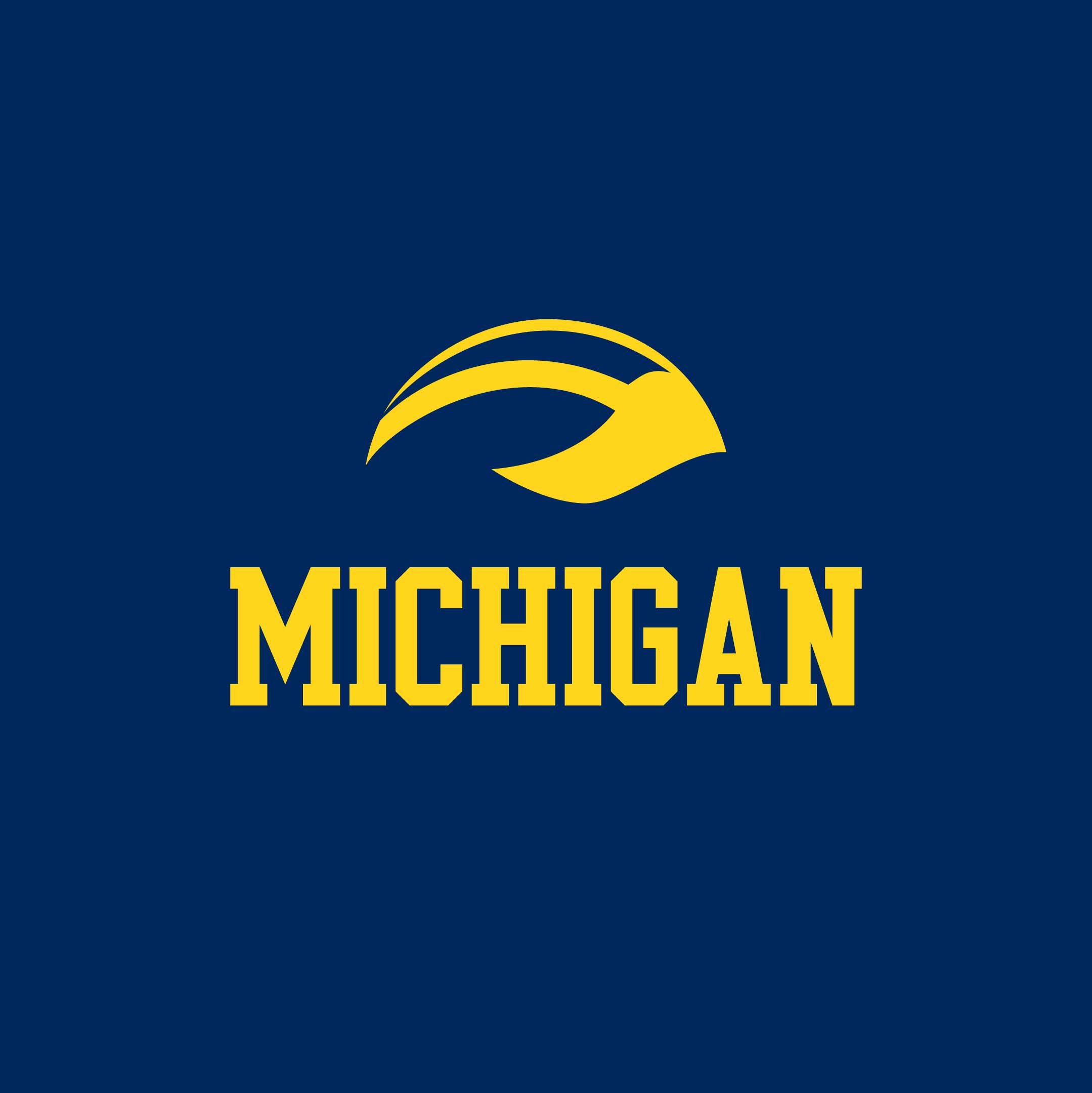 michigan wolverines logo wallpaper   wwwhigh definition wallpapercom 2159x2160