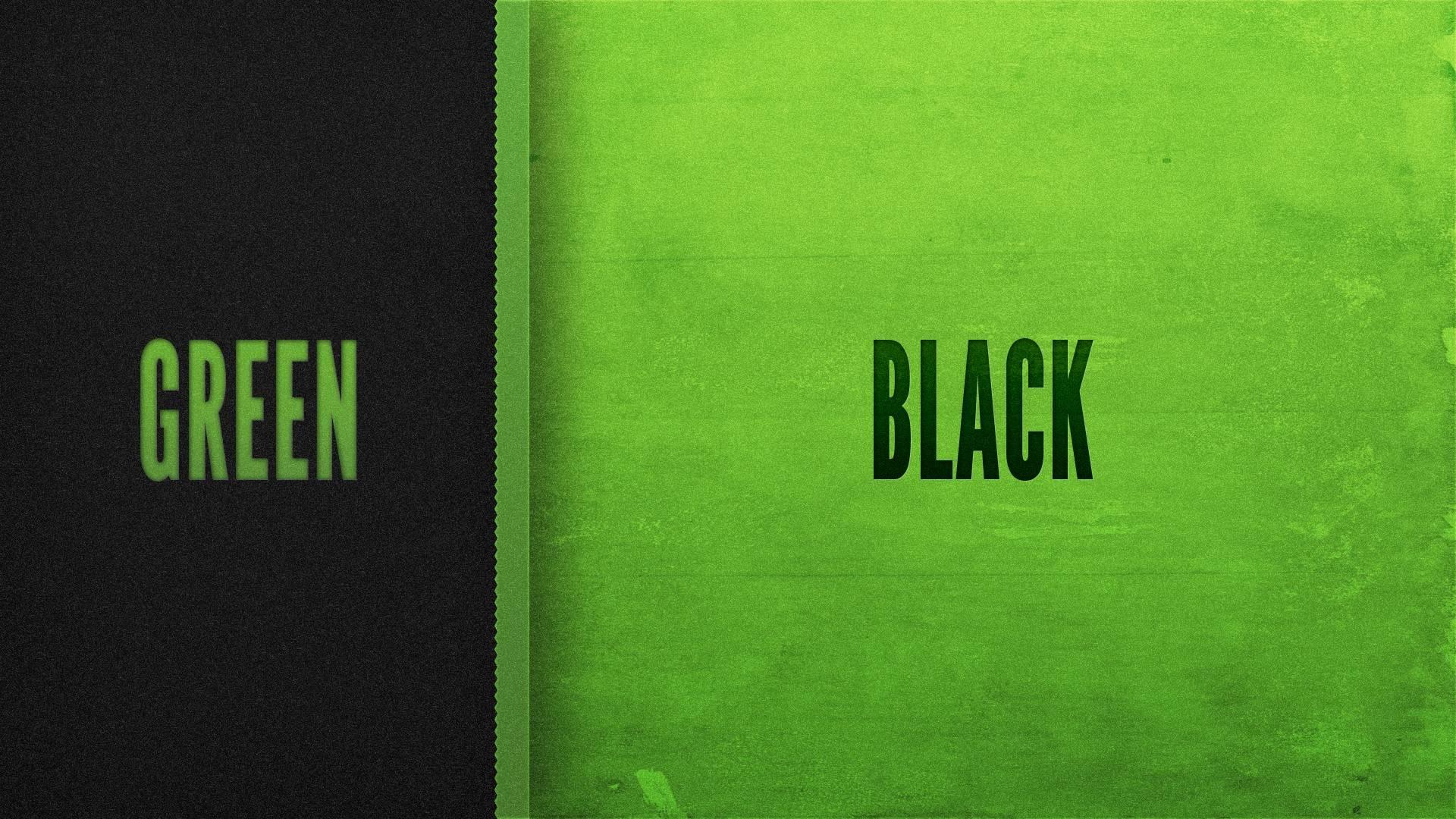 Green Black 19201080 Wallpaper 2357984 1920x1080