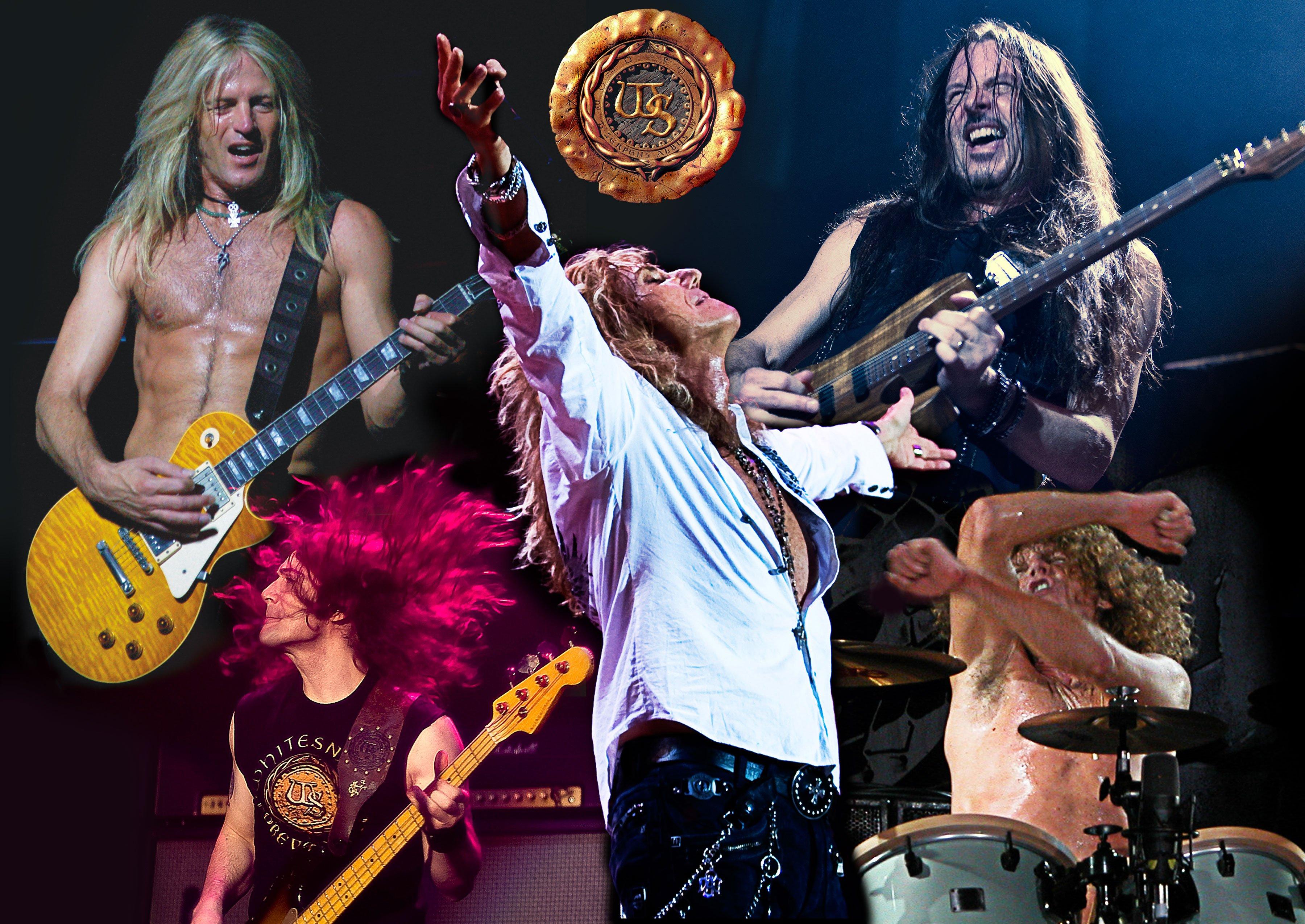 WHITESNAKE hair metal heavy hard rock poster concert 3600x2550