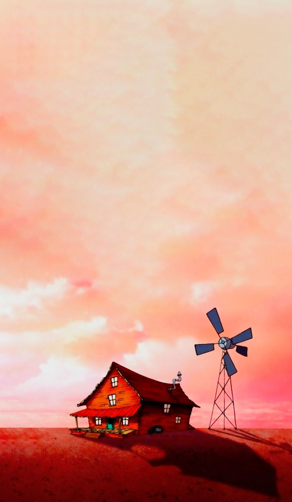 Free Download Courage The Cowardly Dog Scenery Wallpaper Fondos