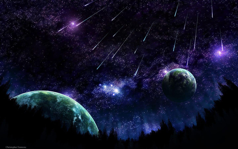 Free Download Planets Space Dark Galaxy Universe Cosmos 1440x900